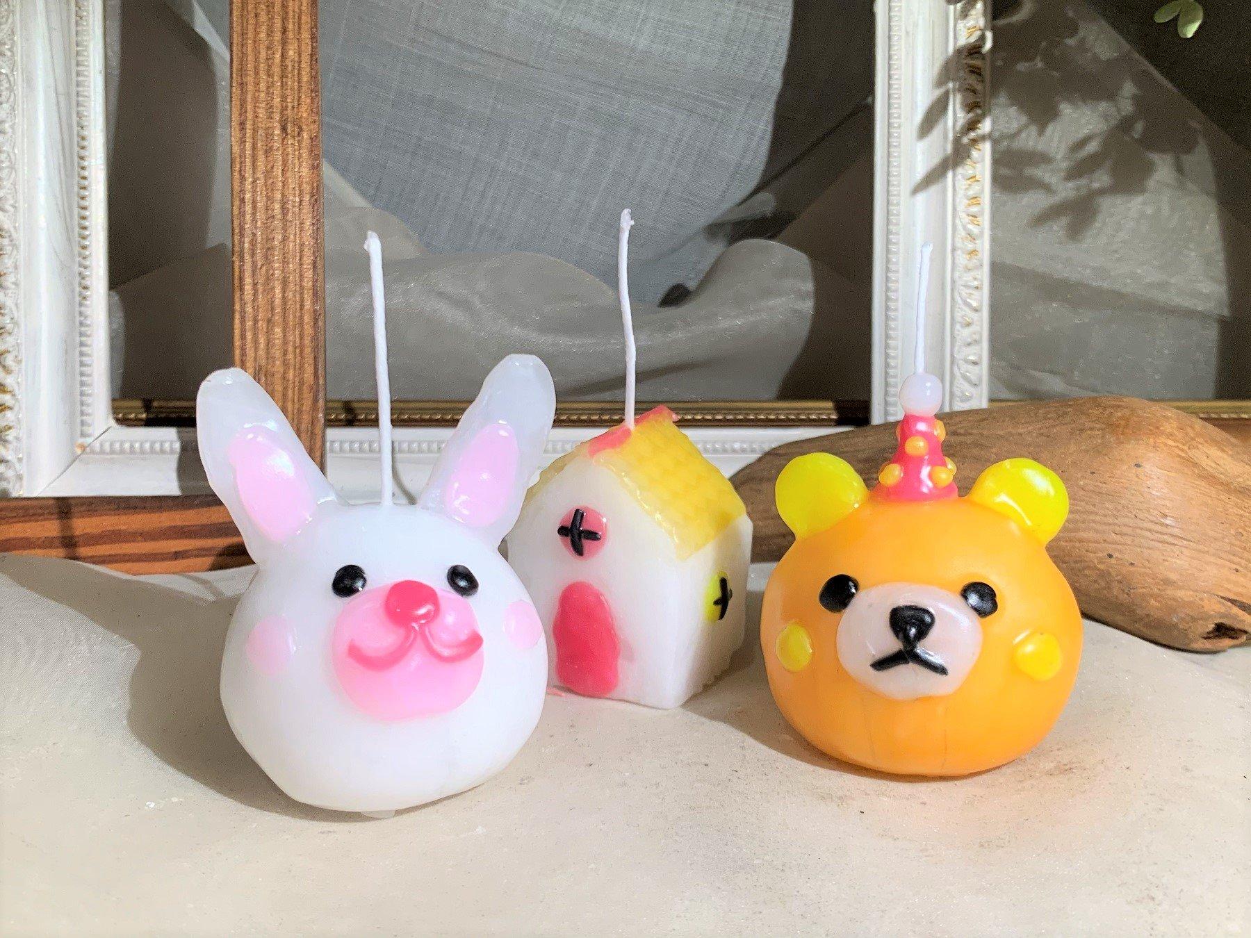 【HDC大阪 くらし向上計画】親子で楽しく作ろう♪ Cuteな動物キャンドル作り